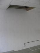 Проем в перекрытии под лестницу