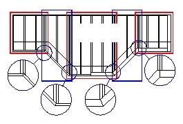 Схема эркерного перекрытия
