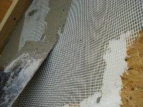 Оштукатуривание стен OSB