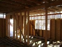 Несущая стена первого этажа в каркасном доме