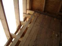 Перекрытия второго этажа в каркасном доме
