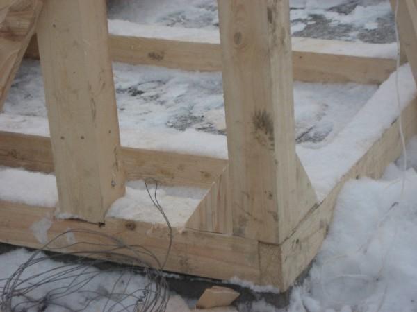 фото 2-1: узел нижней обвязки