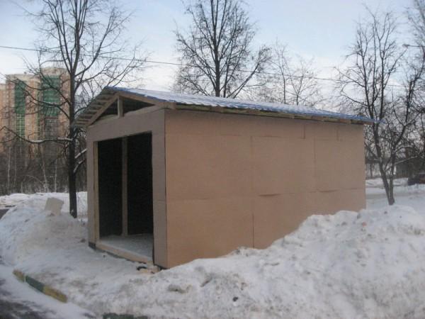 фото 4: отделка гаража