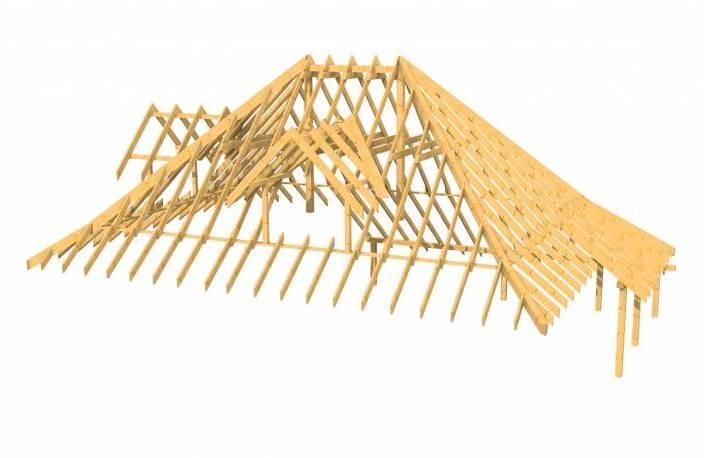 Сложные крыши и дополнительные элементы