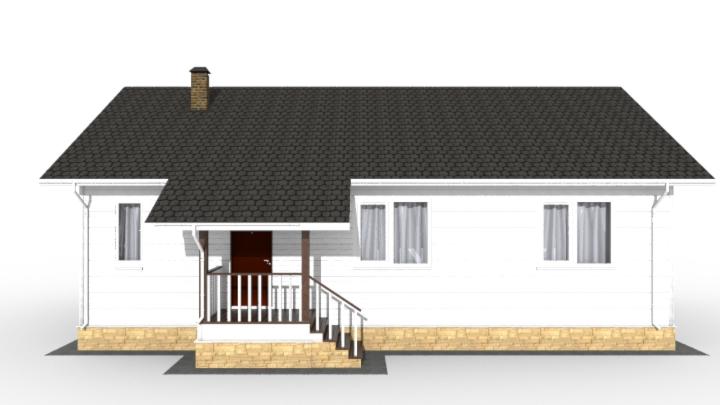 Фасад проекта Ховаярви