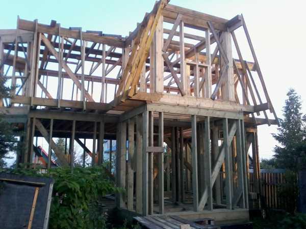 Фото 8: Перекрытие второго этажа