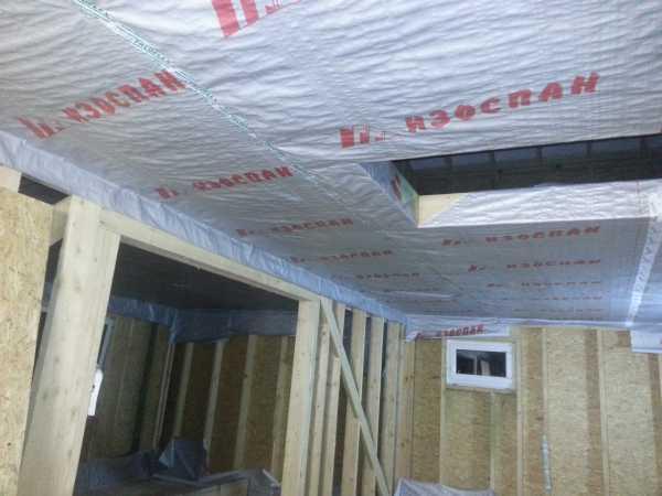 Подготовка к подшиву потолка