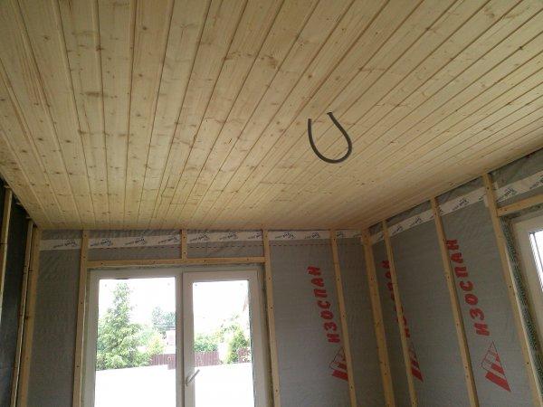 Подшив потолка