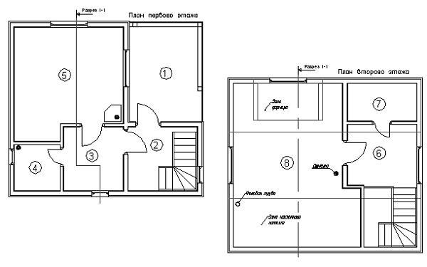 План каркасного дома Вермонт (КД-63)