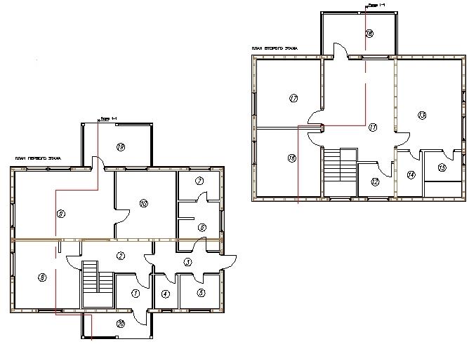 План каркасного дома Луизиана 175