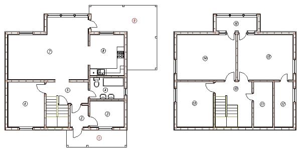 План каркасного дома Канзас 163