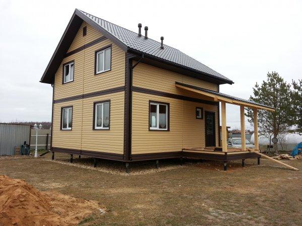 Каркасный дом Себеж-100