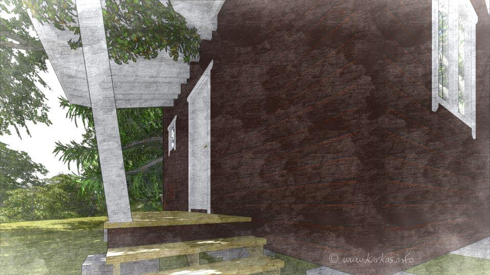 Вид сауны Йокерит 14