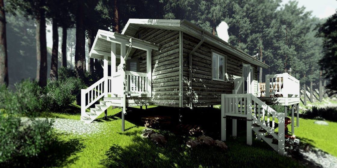 Каркасный дом Алабама 47