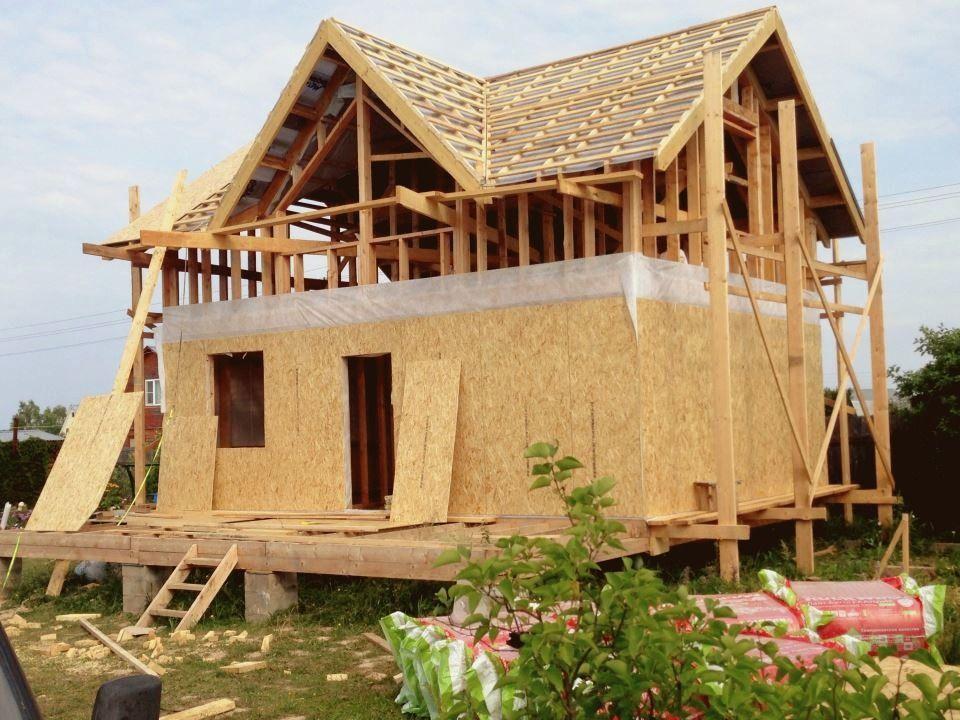 Обустройство крыши и вентзазора