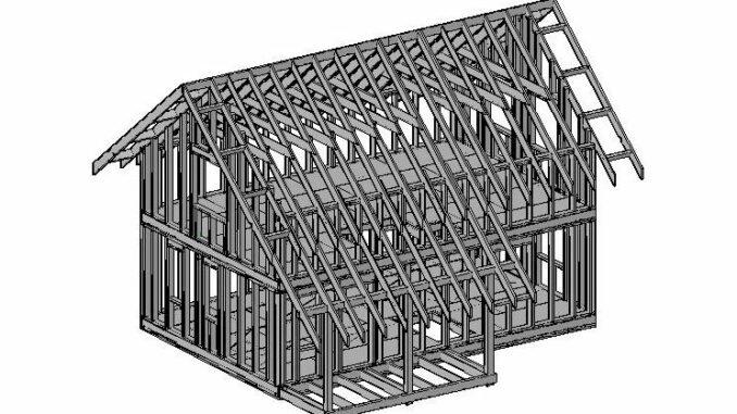 Каркасный дом КД-95