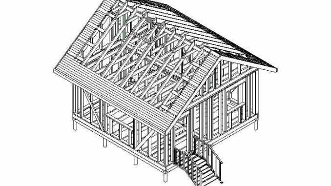 Каркасный дом Опта 29