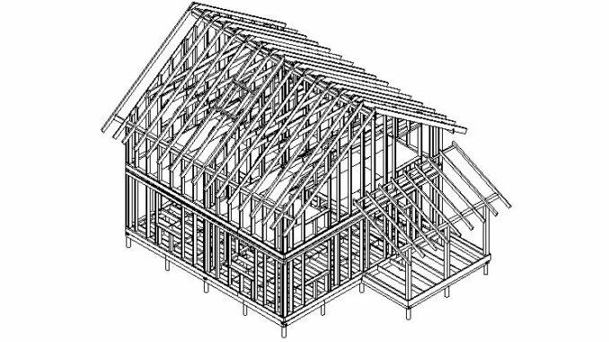 Каркасный дом Ямуга 115М