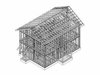 Каркасный дом Лаас 132
