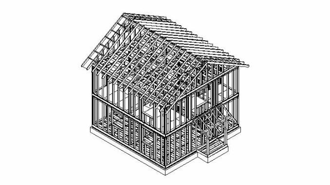 Каркасный дом Ямуга 2С