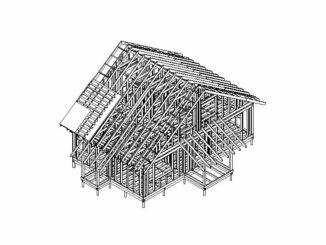 Каркасный дом Эменн 114