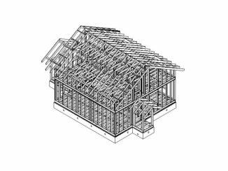 Каркасный дом Икша 122
