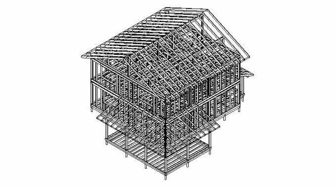 Каркасный дом Истра 177