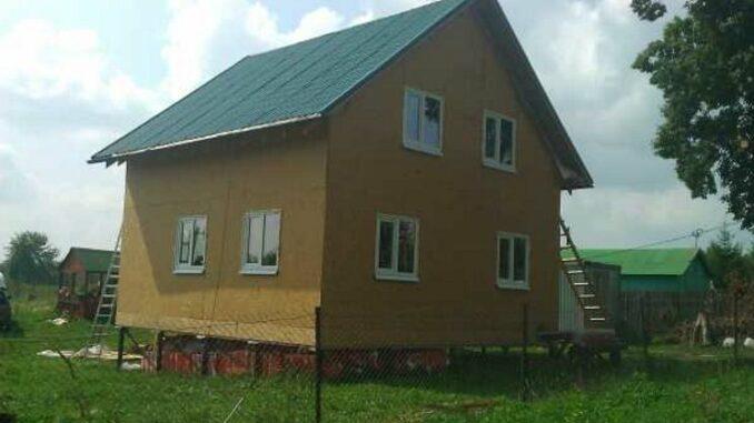 Каркасный дом КД-93
