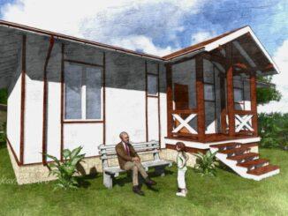Каркасный дом Хеллевад 103