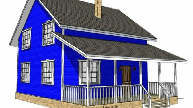 Каркасный дом Себеж 100