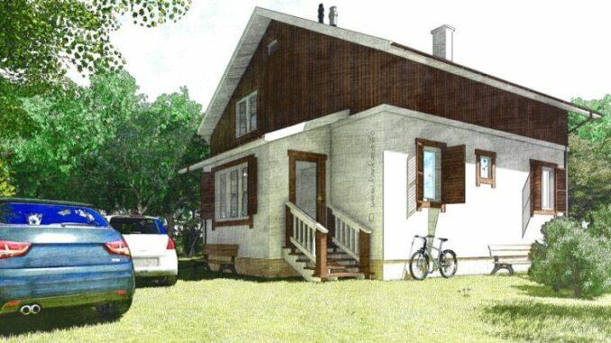 Каркасный дом Реус 129