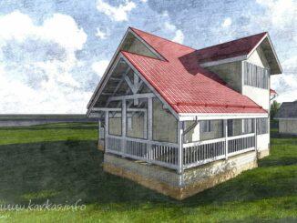 Каркасный дом Канзас 163
