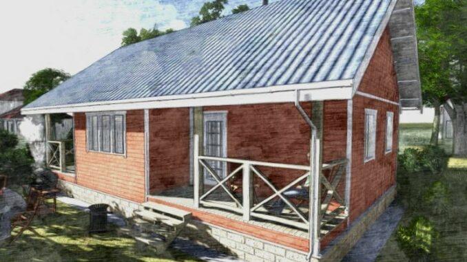 Каркасный дом Иллинойс 65