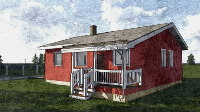 Каркасный дом Оклахома 86