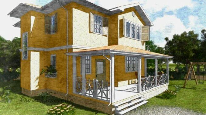 Каркасный дом Индиана 133