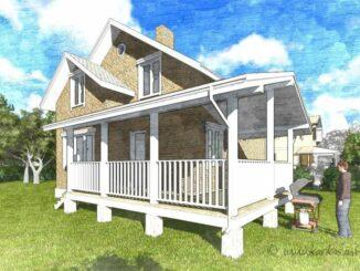 Каркасный дом Вирджиния 105