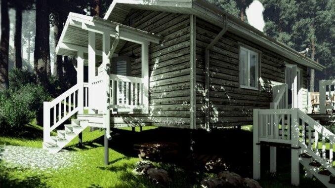 Проект каркасного дома Алабама 47
