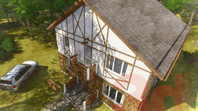 Каркасный дом Коннектикут 179