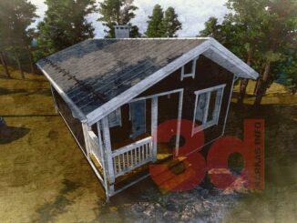 Каркасный дом Приозерье 42