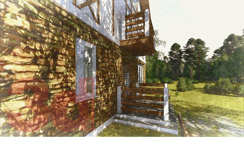 Вид каркасного дома Коннектикут 179