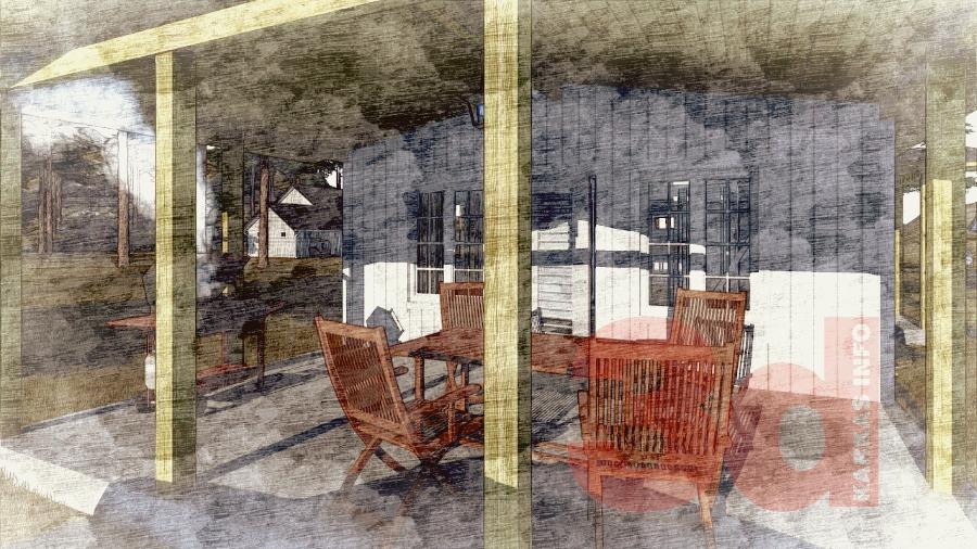 Терраса комплекса для отдыха КБ-125