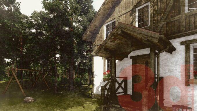 Каркасный дом Ямуга 124