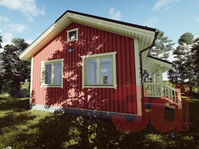 Каркасный дом Дарина 2(КД-56)
